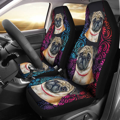 Pug Car Seat Covers 0802PM-SCDL