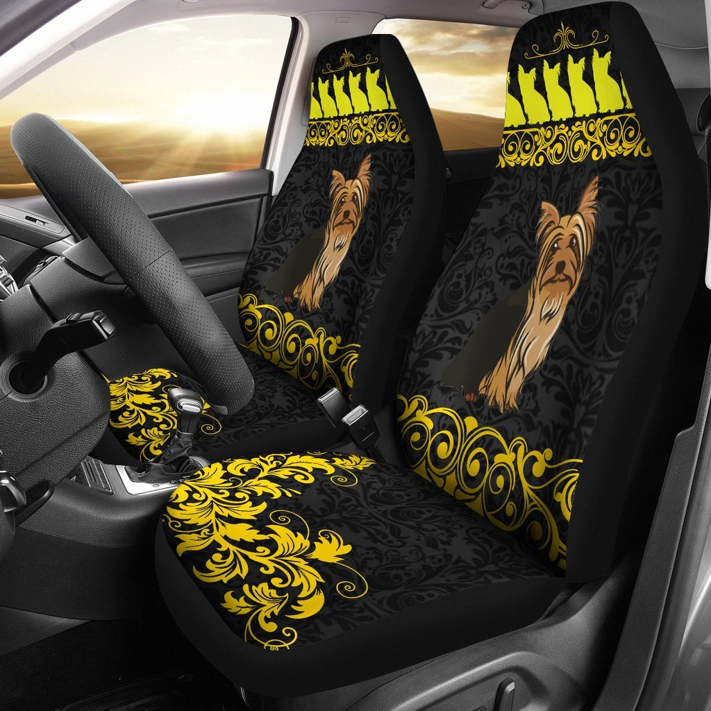 Yorkie Car Seat Covers 0802TH