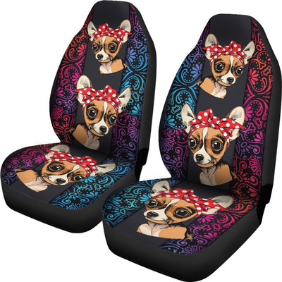 Chihuahua Car Seat Covers 0602PM-SCDL