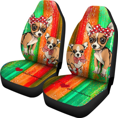 Chihuahua Car Seat Covers 0202DL