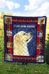 Ottedesign Premium Golden Retriever Quilt - U050619