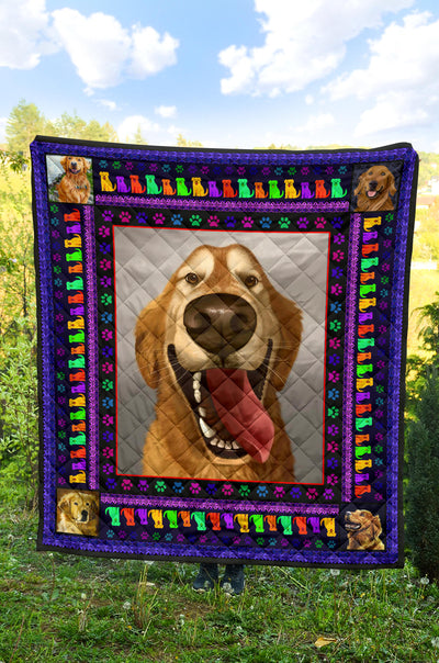 Ottedesign Premium Golden Retriever Quilt U240519