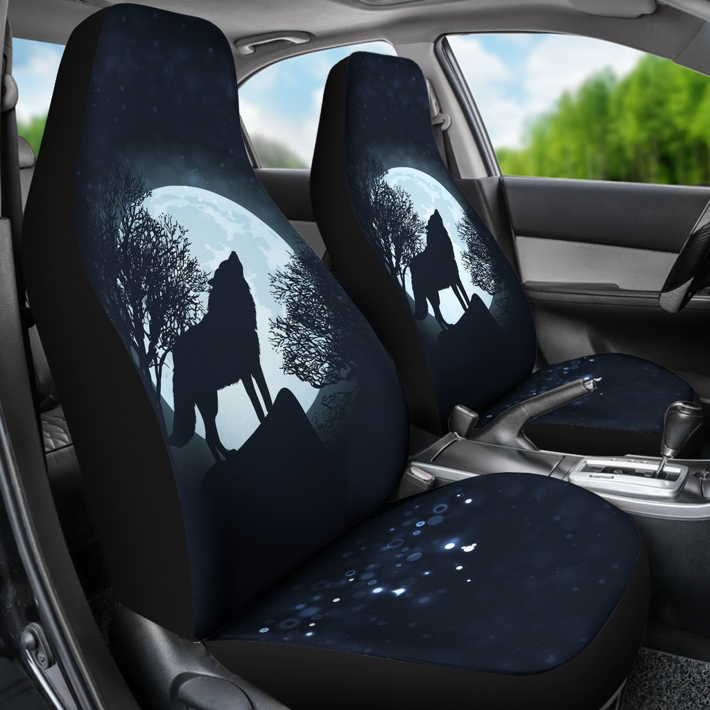 Wolf Car Seat Covers 1503VA