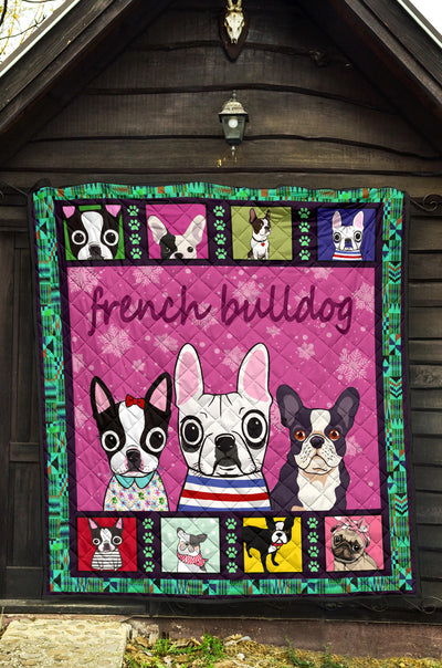 Ottedesign Premium French Bulldog Quilt 2U200519