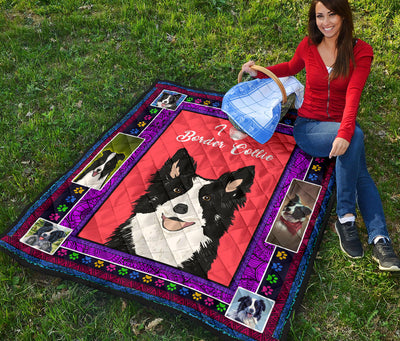 Ottedesign Premium Border Collie Quilt - U230519