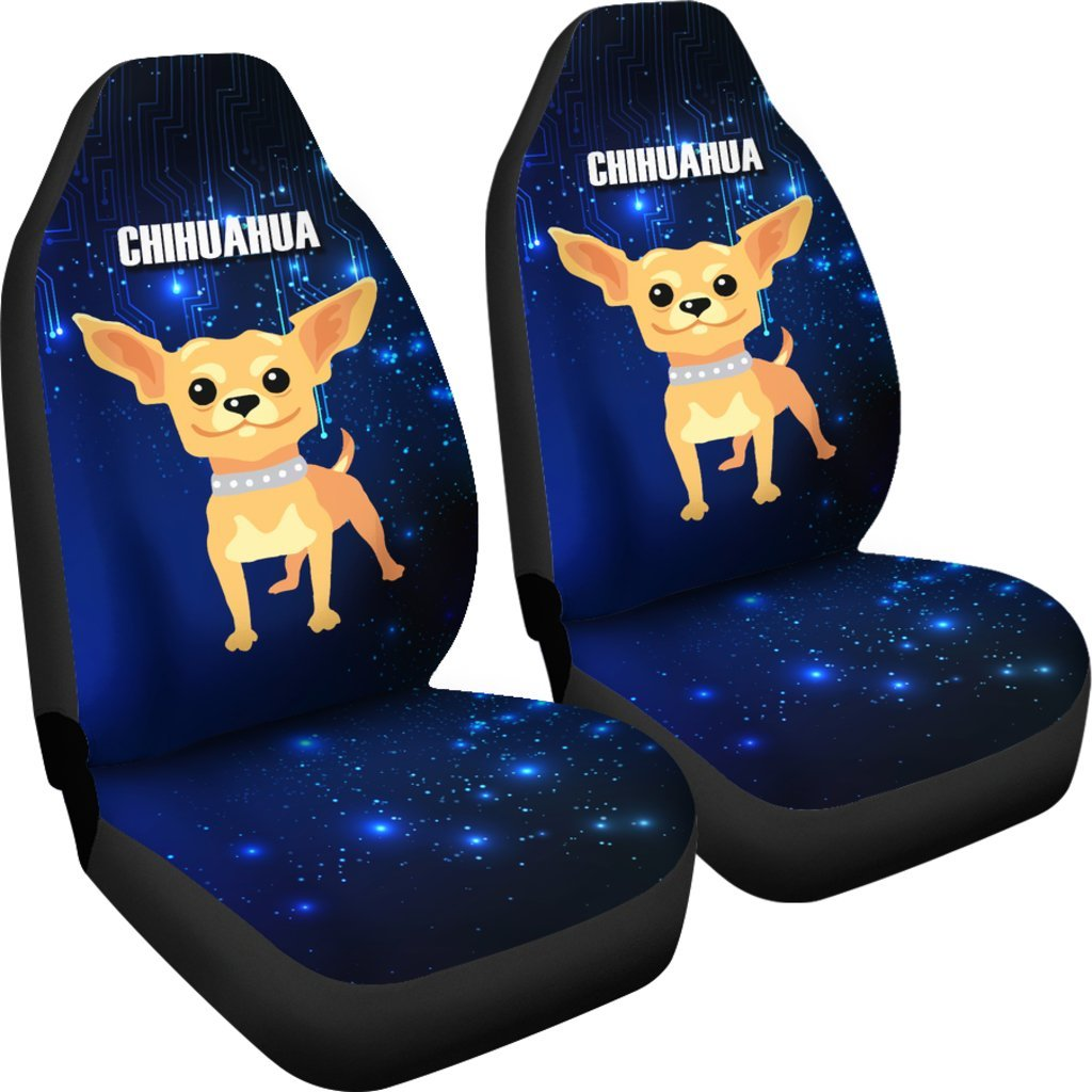 Chihuahua Car Seat Covers 702VA - Ottedesign.