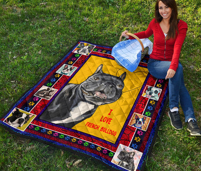 Ottedesign Premium French Bulldog Quilt - U030619