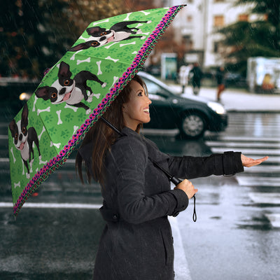 Boston Terrier Umbrella - U070619