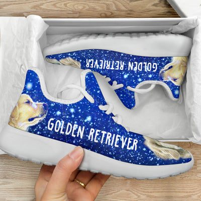 Ottedesign Golden Retriever Mesh Knit Sneakers U250519