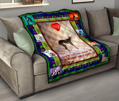 Ottedesign Premium Greyhound Quilt - U230519