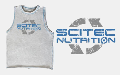 Scitec Sleeveless T-Shirt