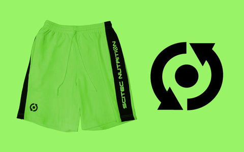 Scitec Nutrition Shorts Green
