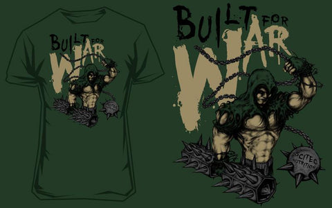 T-Shirt Built for War 2