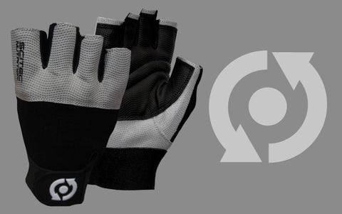 Scitec Nutrition Training Gloves Grey Style