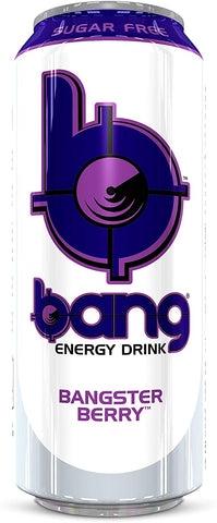 Bang Energy Drink Cans BCAA RTD   12 X 500ml