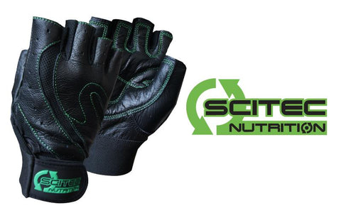 Scitec Nutrition Training Gloves Green Style