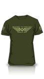 T-Shirt Muscle Army Woodland