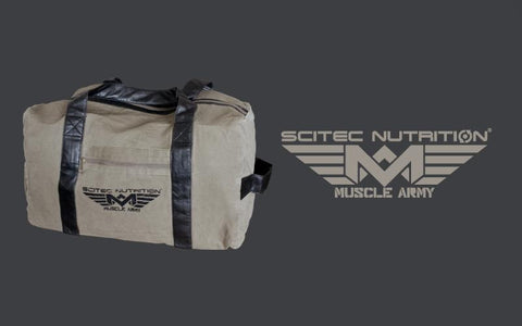 Scitec Nutrition Muscle Army Back Pack Military