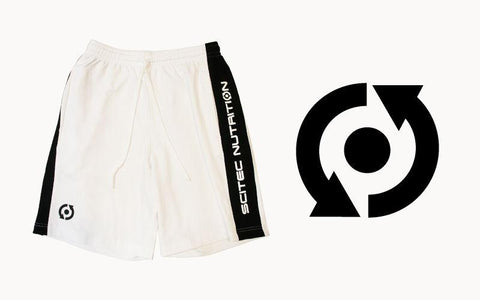 Scitec Nutrition Shorts White
