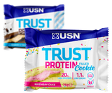 USN Trust Protein Cookie 12 X 75 g Mixed Bundle