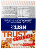 Pick&Mix USN Trust Crunch Bar Box 12 x 60 g Mixed Bundle