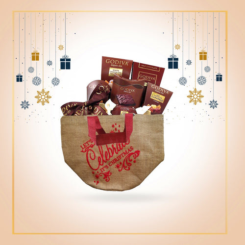 Let's Celebrate It's Christmas gift bag (5 Pack+)