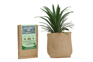 Outdoor Eco Friendly Jute Plant Pots (3.7 Liters)