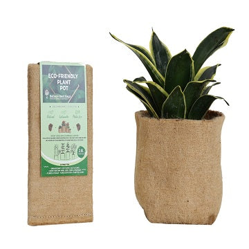 Outdoor Eco Friendly Jute Plant Pots (2.8 Liters)
