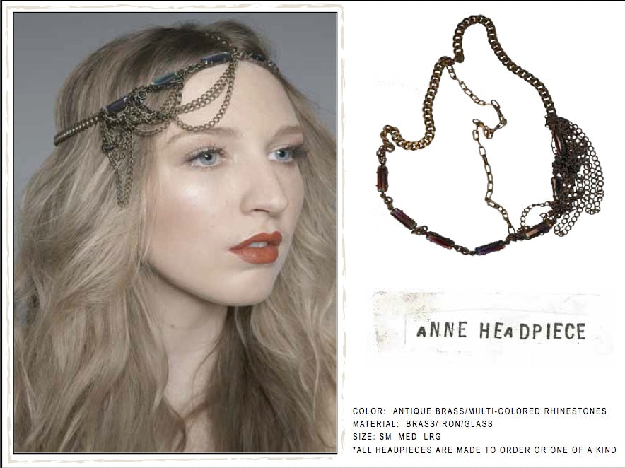 Anne Headpiece by LITTER