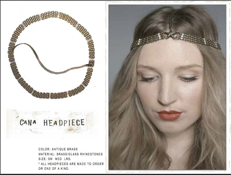 Cana Headpiece by LITTER