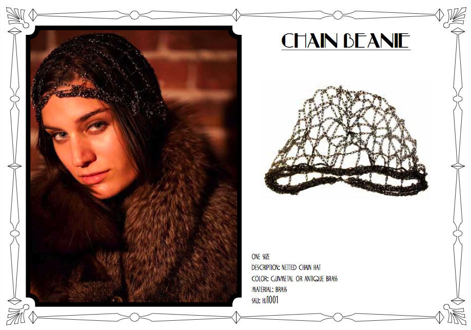 Chain Beanie by LITTER
