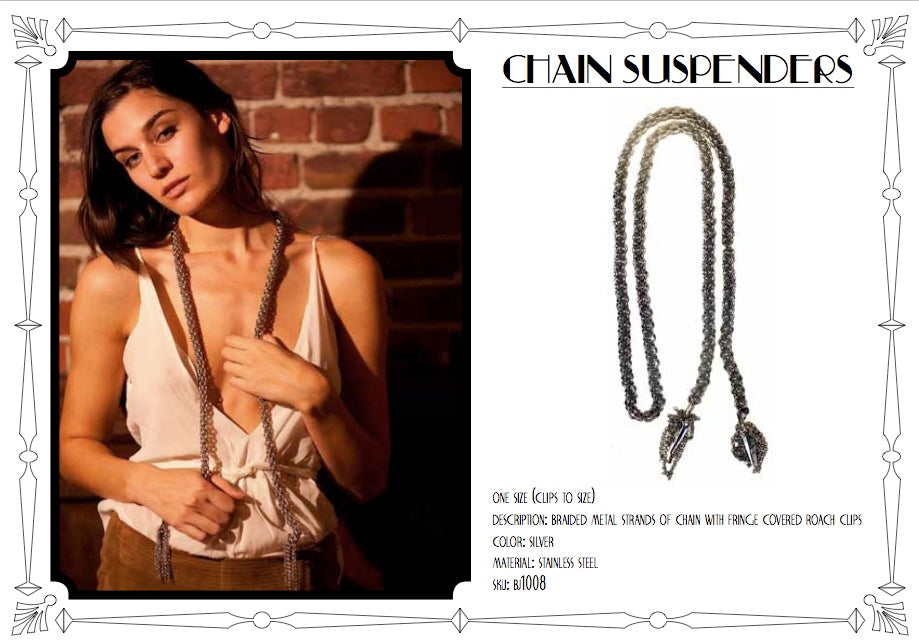 Chain Suspenders by LITTER