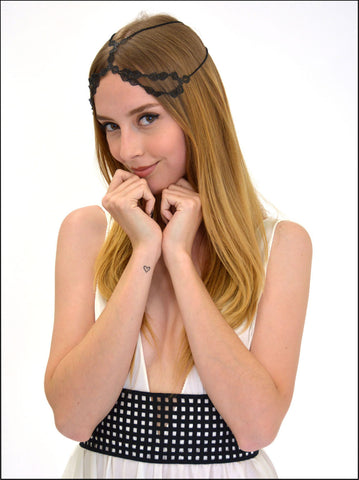 COURONNE HEADPIECE