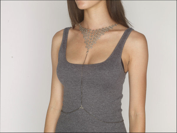 REVERSIBLE CHAINMAIL HARNESS