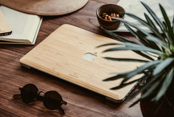 cover skin coque macbook bois bambou bamboo