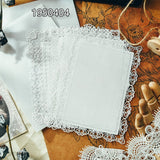 KSCRAFT Vintage Elegant Lace Doilies Paper Doilies for DIY Scrapbooking Paper Card Making Craft
