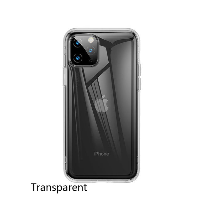 Baseus Transparent Soft Silicone Case For iPhone 11 Case Cover on iPhone 11 Pro Max Shockproof Case For iPhone 11 Pro Xs MaxCase