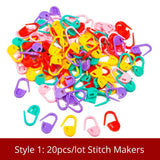 35 Styles Sewing Accessories For Crochet Hook And Knitting Needles DIY Needles Arts Craft Weave With Stitch Markers Sewing Tools