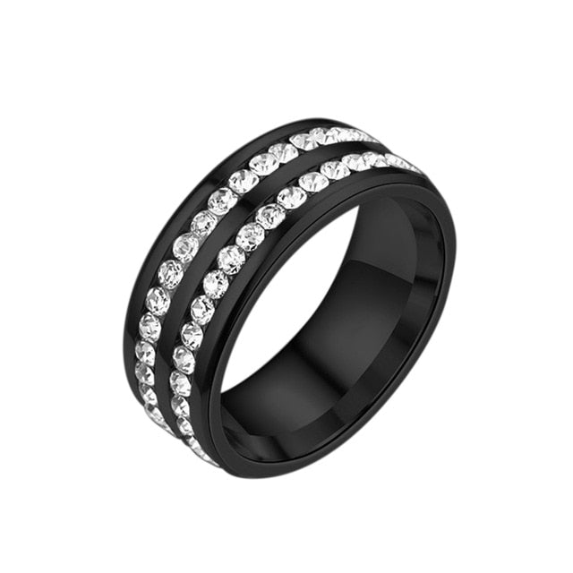 Weight Loss Ring men/women Slimming ring Healthcare Fat Burning Slimming Magnetic Ring Fully-Jewelled Health Care Finger Ring
