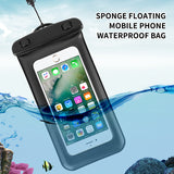Sponge Float Waterproof Bag Case For Samsung A80 70 A50 A30 S10 Note 10 iPhone X Xs Max XR Under Water Case For Huawei Xiaomi
