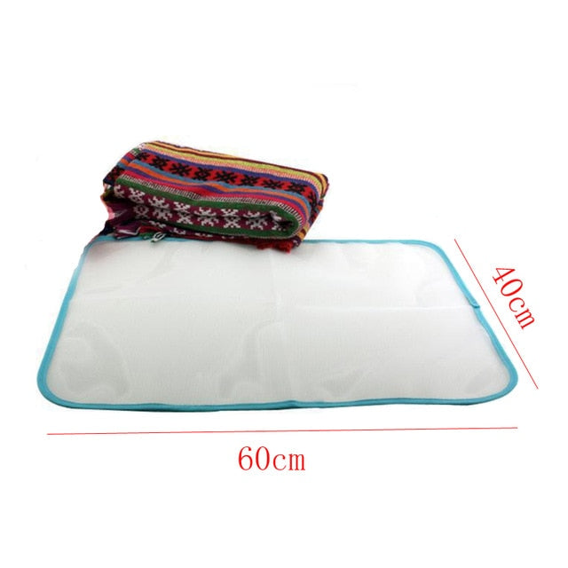 40x60cm Protective Press Mesh Bag Home Ironing Cloth Guard Protect Delicate Garment Clothes Laundry Baske Clothes Hanger
