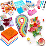 Starter quilling paper tool rolling pen needle tweezer 3mm/5mm paper quilling kit for Art & craft supplies handmade DIY decor