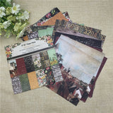 "24 Sheets 6""X6""Scrapbooking Pads Paper Origami Art Background Paper Card Making DIY Paper Craft"