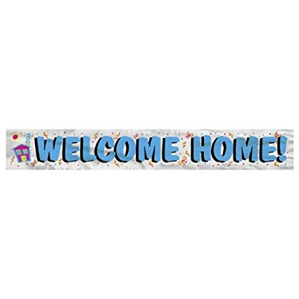 Banner - Welcome Home (90014)