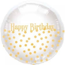 "Foil - 18"" - Happy Birthday (00919-01)"