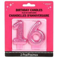 Candle - 16th Pink (171466)