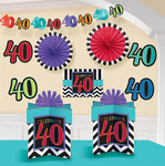 Room Decorating Kit - 40th Birthday