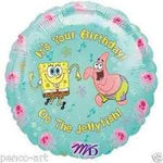 "Foil - 18"" - Sponge Bob - It's your Birthday OO the Jellyfish (12486)"