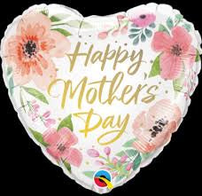 "Foil - 18"" - Happy Mother's Day (Heart) (82207)"