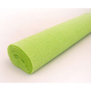 Crepe - Roll - Lime Green
